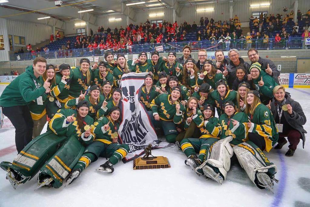 University of Alberta Panda Hockey national champion