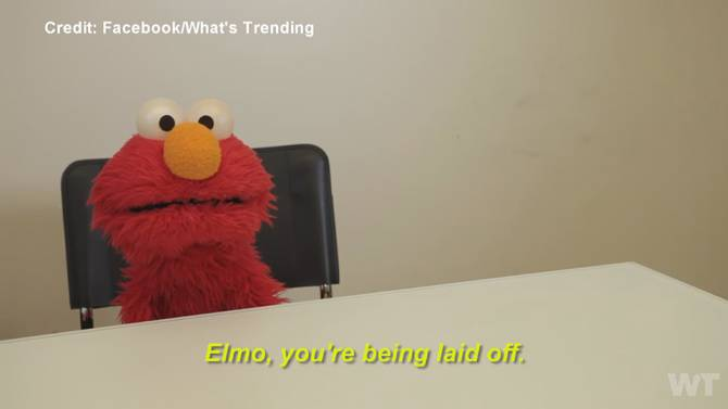 Elmo gets fired from sesame street
