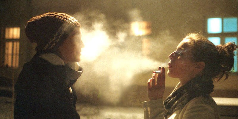 boy and girl smoking weed