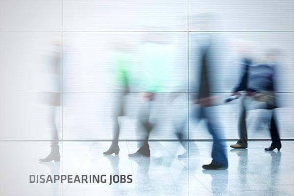 Top 6 disappearing Jobs in 2018