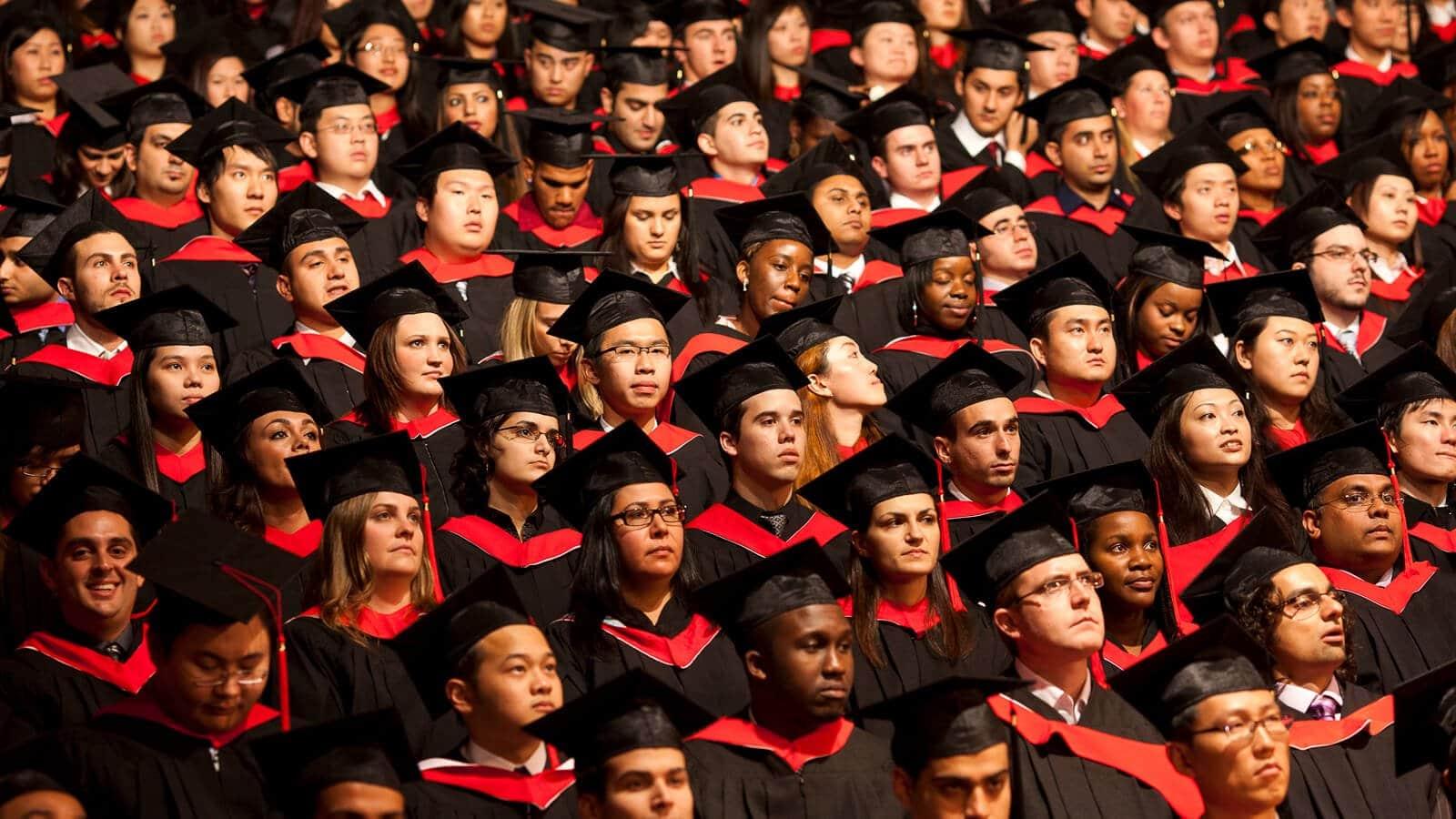 Graduation in Canada 2018.