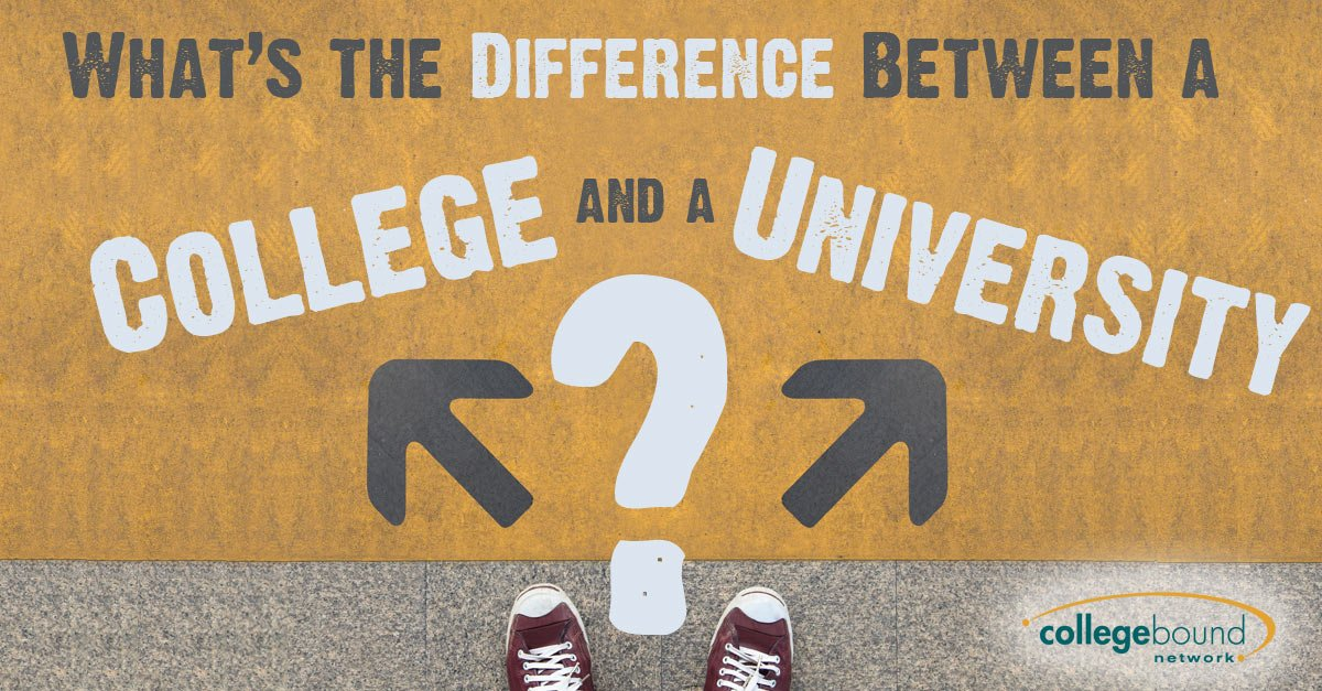What Is The Difference Between a College and a University