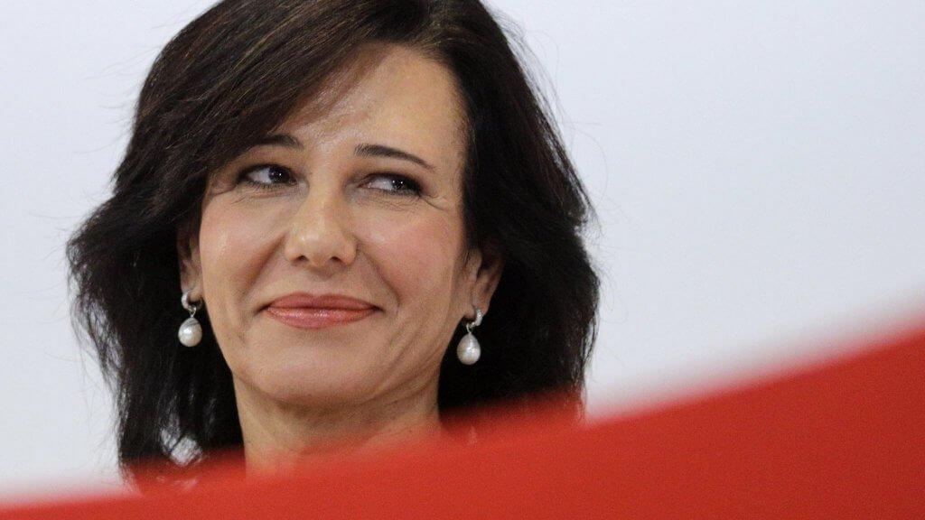 Ana Botin, Chairman of Banco Santander,