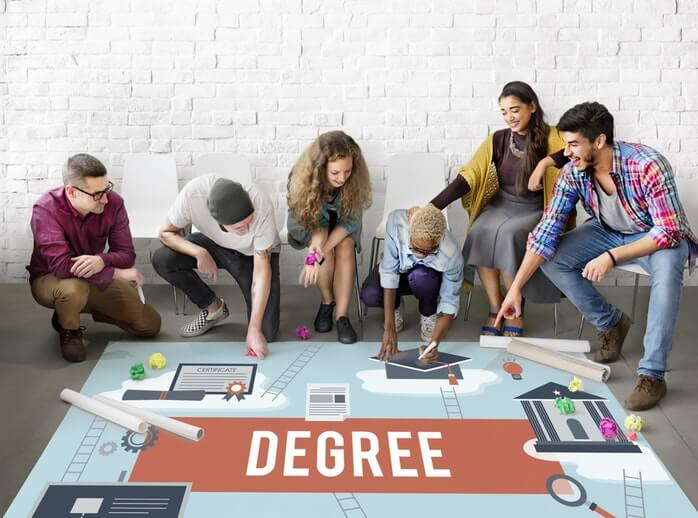 Type of Degrees Available At University 2018