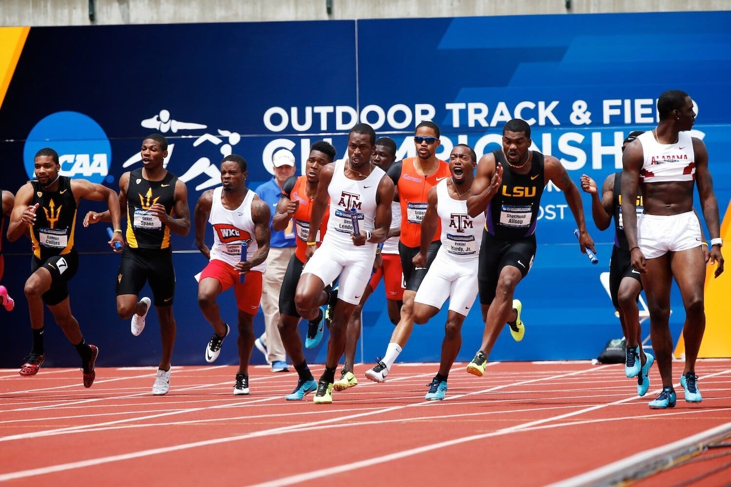 The Best NCAA DI Outdoor Men's Track & Field Team 2018