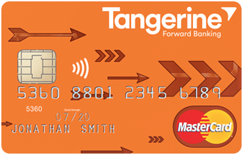 Tangerine MoneyBack Credit Card