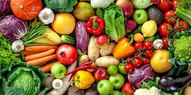 fruits and vegetables Facts