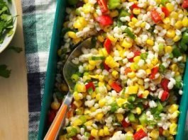 Barley Corn Salad