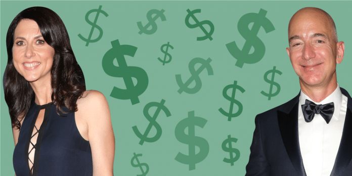 Jeff and Mackenzie Bezos break up