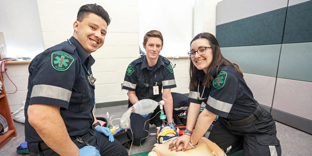 What does a paramedic do