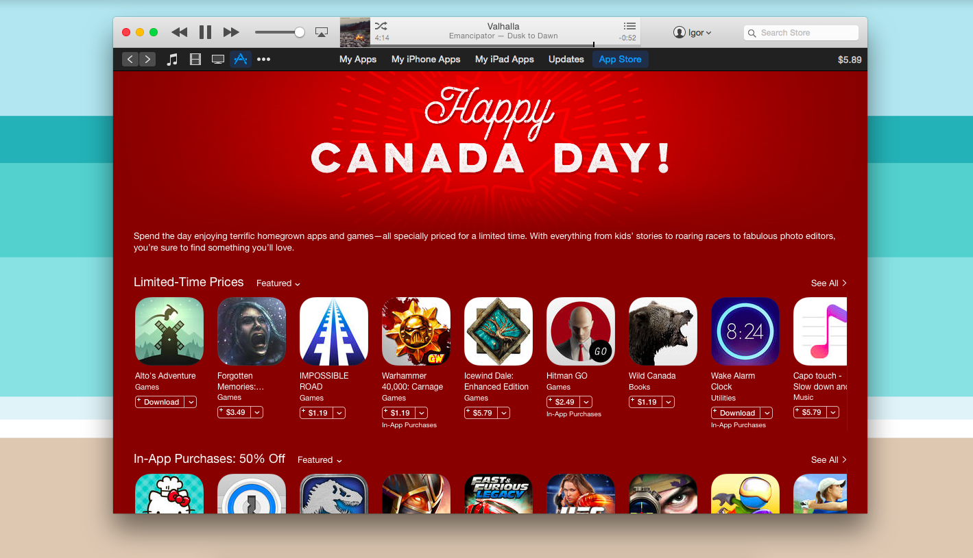 Celebrate Canada Day With These Canadian Made Apps
