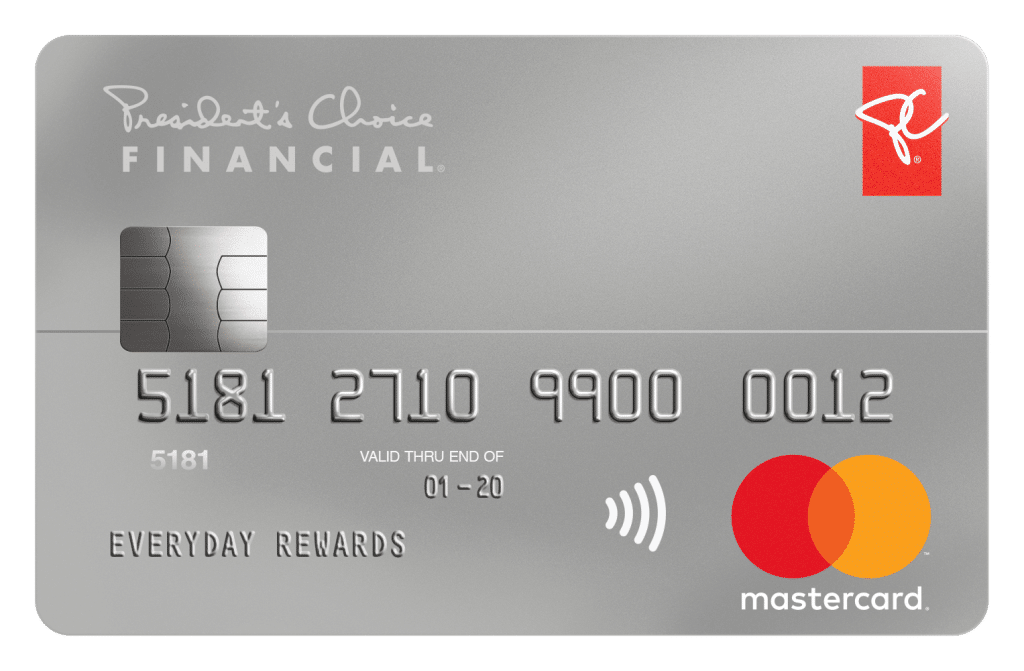 PC Financial MasterCard