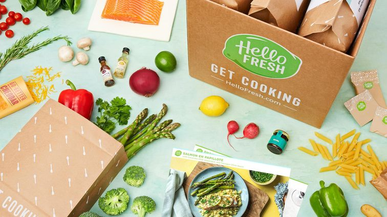 Hello Fresh meal kit delivery service
