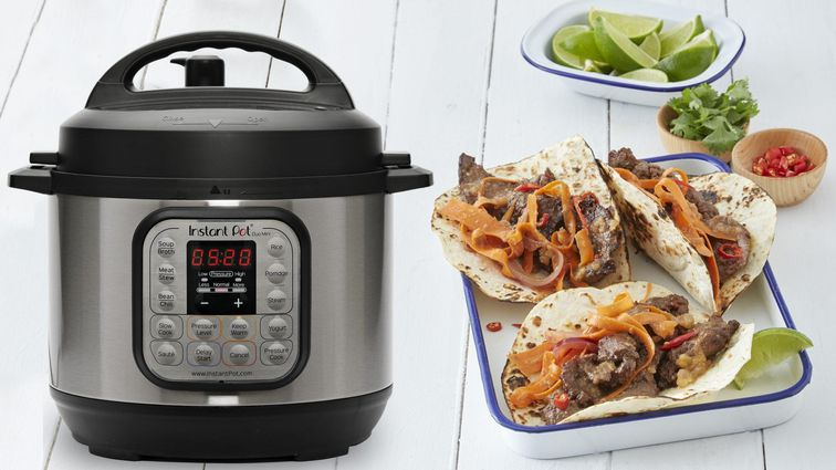 Instant Pot DUO mini pressure cooker