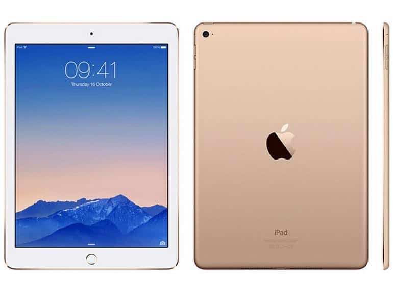 Ipad Air White and Gold