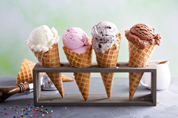 Ice cream taster