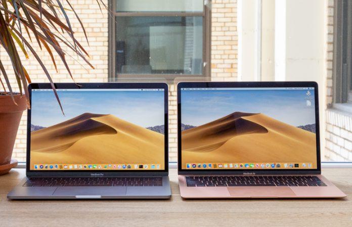 MacBook Pro and MacBook Air