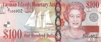 100 Cayman Islands Dollar
