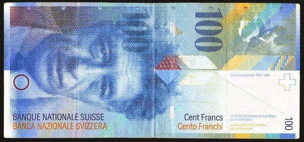 100 Swiss Franc