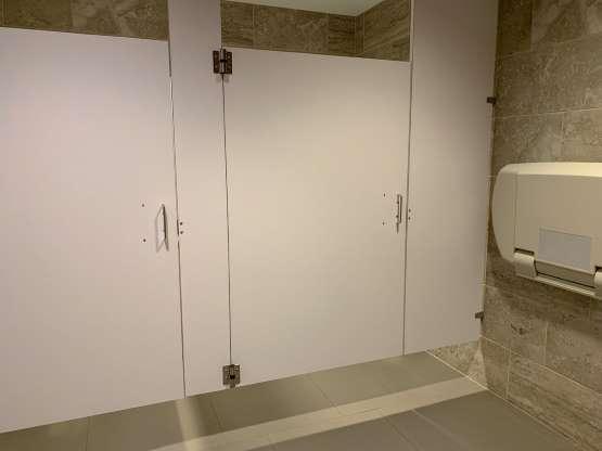 The Bathroom Stall Latch