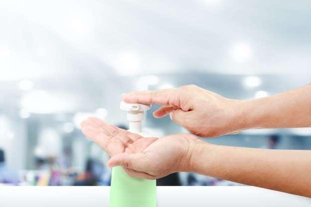 The Pump on Hand Sanitizer Bottles