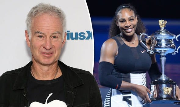 Serena Williams and John McEnroes
