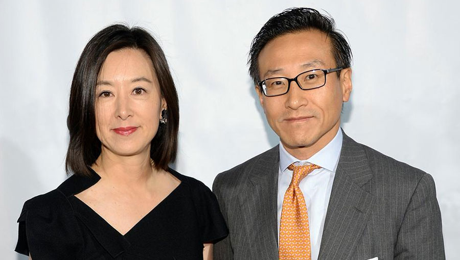 Joseph Tsai and Wife