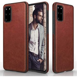 Leather and elegant smartphone cover