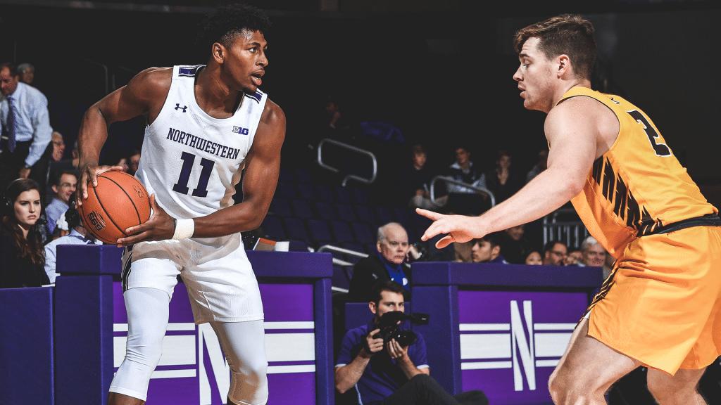 Northwestern University Men Basketball 2020