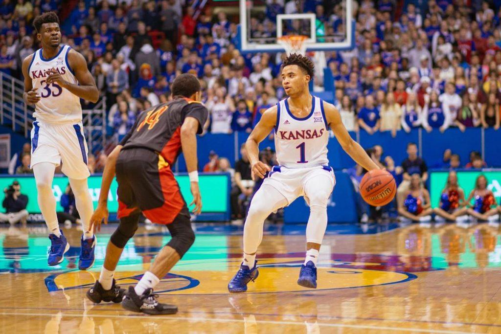 University of Kansas basketball 2020