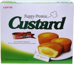 Lotte Custard Cake
