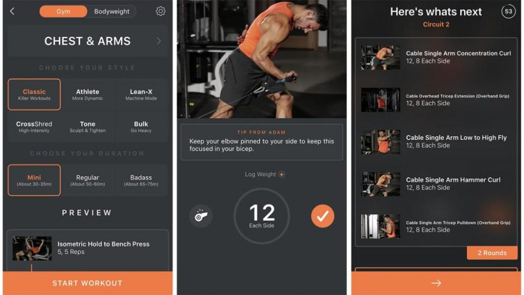 Shred Fitness Apps