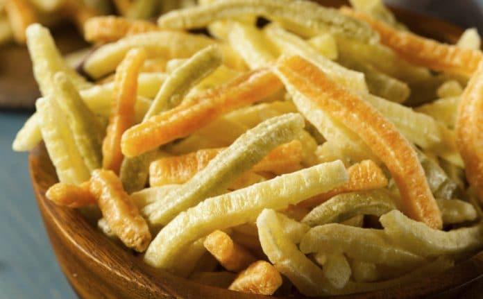 Veggie sticks or straws
