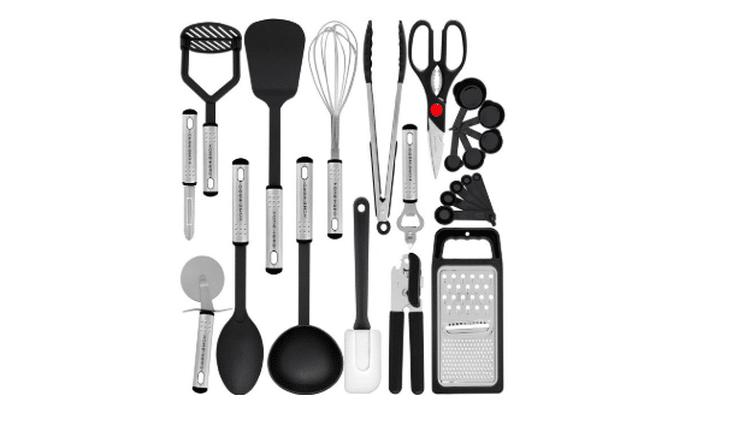 23-piece kitchen utensil set