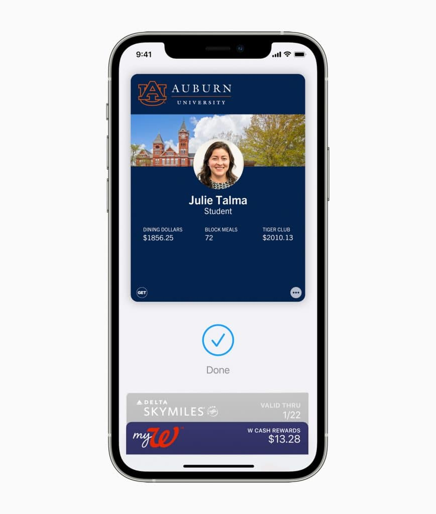 Apple iPhone 12 Pro/ WatchSeries 6 AU student-ID