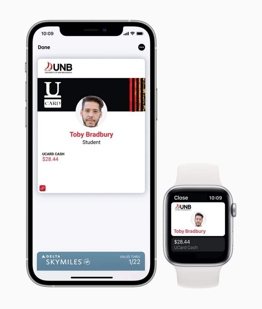 Apple iPhone12 Pro/ Watch Series 6 UNB student ID