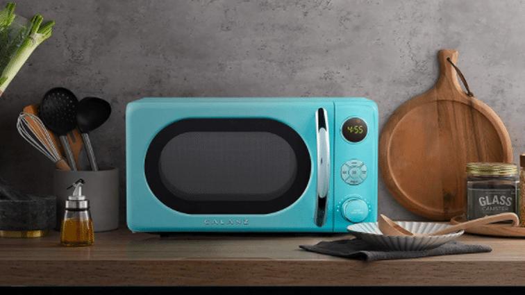 Galanz retro microwave oven