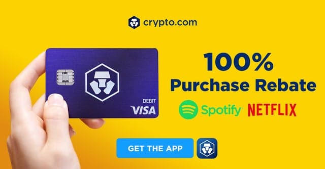 crypto.com Netflix and Amazon and Spotify