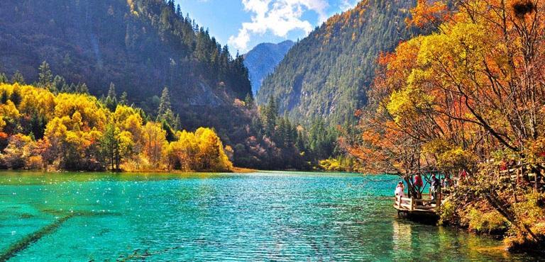 Jiuzhaigou Valley Natural Reserve